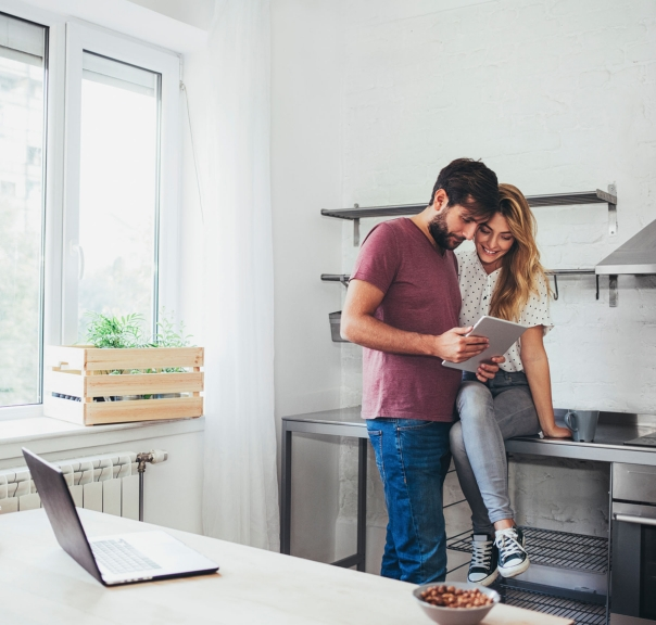 couple preparing for cleanse